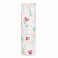 Пеленка Aden&Anais муслиновая Floral fauna ditsy floral 112х112 см