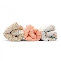 Пеленка Umbo Муслиновая с застёжками Персиковый румянец 120х90 см (3 шт.)