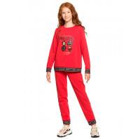 Pelican Комплект для девочки (свитшот и брюки) New year GFANP4825