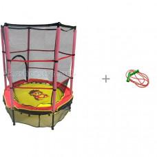 Perfetto Sport 5 Батут детский с защитной cеткой со скакалкой 2.2 метра Стеллар