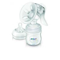 Philips Avent Молокоотсос ручной с пакетами для грудного молока Natural SCF330/50