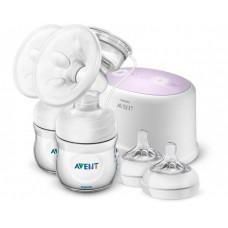 Philips Avent Ultra Comfort Double Двойной электронный молокоотсос SCF334/31