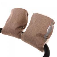 Pituso Муфта-варежки на коляску (мех/плащевка)