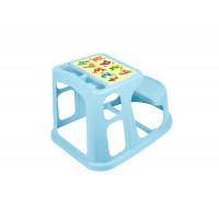 Пластишка Стол-парта детская с аппликацией 730х550х500 мм