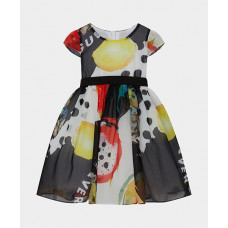 Платье нарядное с поясом Gulliver