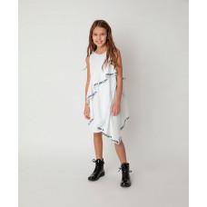 Платье нарядное с рюшами Gulliver