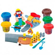 Playgo Набор с пластилином Дорожные работы