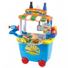 Playgo Набор с пластилином Тележка-закусочная