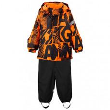 Playtoday Комплект утепленный: куртка и полукомбинезон Active baby boys