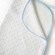 Плед Baby Nice (ОТК) Одеяло стеганное Сердечки 118х100