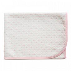 Плед Baby Nice (ОТК) Одеяло стеганное Сердечки 140х100