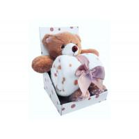 Плед Uviton Набор с игрушкой Bear
