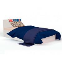 Подростковая кровать ABC-King Человек паук с рисунком и подъёмный механизмом 190x120 см