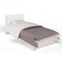 Подростковая кровать ABC-King Extreme с кожей без ящика 160x90 см
