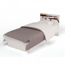 Подростковая кровать ABC-King Extreme с рисунком без ящика 160x90 см