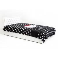 Подростковая кровать ABC-King Фея со стразами Сваровски и подъемным механизмом 190x120 см