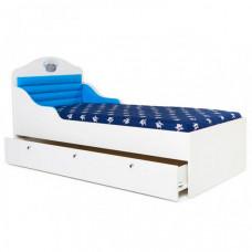 Подростковая кровать ABC-King корабль без ящика и носа 190x90 см