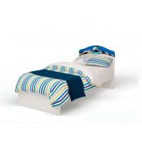 Подростковая кровать ABC-King La-Man с рисунком без ящика 190x90 см