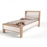 Подростковая кровать ABC-King Mix №2 с мягким изножьем 160x90 см
