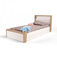 Подростковая кровать ABC-King Mix №4 с мягким изножьем 190x90 см