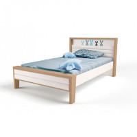 Подростковая кровать ABC-King Mix Bunny №2 с мягким изножьем 190x120 см