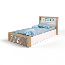 Подростковая кровать ABC-King Mix Bunny №5 c подъёмным механизмом 190x90 см