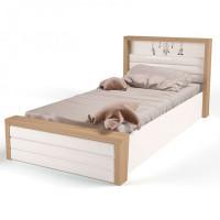 Подростковая кровать ABC-King Mix Ловец снов №6 c подъёмным механизмом мягким изножьем 160х90 см