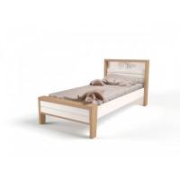 Подростковая кровать ABC-King Mix Ocean №2 с мягким изножьем 190x90 см