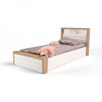 Подростковая кровать ABC-King Mix Ocean №6 c подъёмным механизмом и мягким изножьем 160x90 см