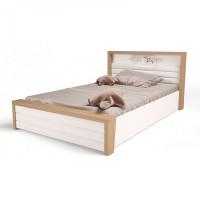 Подростковая кровать ABC-King Mix Ocean №6 c подъёмным механизмом и мягким изножьем 190x120 см
