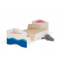 Подростковая кровать ABC-King Ocean без ящика для девочки 160x90 см
