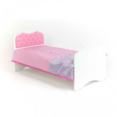 Подростковая кровать ABC-King Princess №2 со стразами Сваровски без ящика 190x90 см