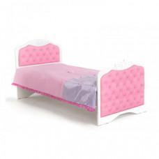 Подростковая кровать ABC-King Princess №3 со стразами Сваровски без ящика 190x90 см