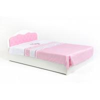 Подростковая кровать ABC-King Princess со стразами Сваровски и подъемным механизмом 190x120 см