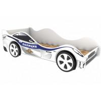 Подростковая кровать Бельмарко машина Полиция