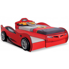 Подростковая кровать Cilek двухместная Машина Racecup