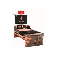 Подростковая кровать Cilek корабль Black Pirate
