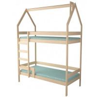 Подростковая кровать Forest домик Primavera двухъярусная (неокрашенная)