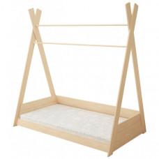 Подростковая кровать Forest Вигвам неокрашенная 160х80