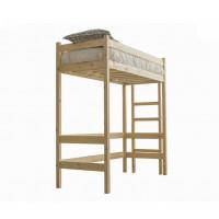 Подростковая кровать Green Mebel чердак Л1 70х190 см