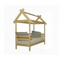 Подростковая кровать Green Mebel Избушка 70х160 см