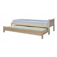 Подростковая кровать Green Mebel с выдвижным спальным местом 2 в 1 80х200 см