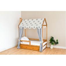 Подростковая кровать Можга (Красная Звезда) Домик Р424 эмаль