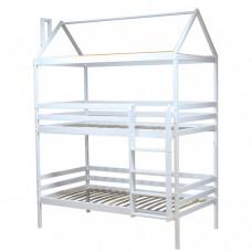 Подростковая кровать Можга (Красная Звезда) Двухъярусная (эмаль) Р429.1