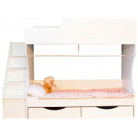 Подростковая кровать Можга (Красная Звезда) двухъярусная с ящиками Капризун 6