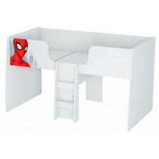 Подростковая кровать Polini kids Чердак Marvel 4105 Человек паук