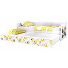 Подростковая кровать Polini kids Fun 4200 Миньоны