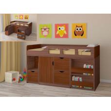 Подростковая кровать РВ-Мебель чердак Астра 8 (дуб шамони)
