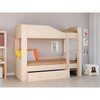 Подростковая кровать РВ-Мебель двухъярусная Астра 2 (дуб молочный)