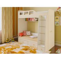 Подростковая кровать РВ-Мебель двухъярусная Астра 3 (дуб молочный)